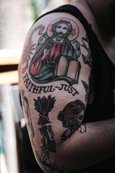 Diseños de Tattoos Jesús