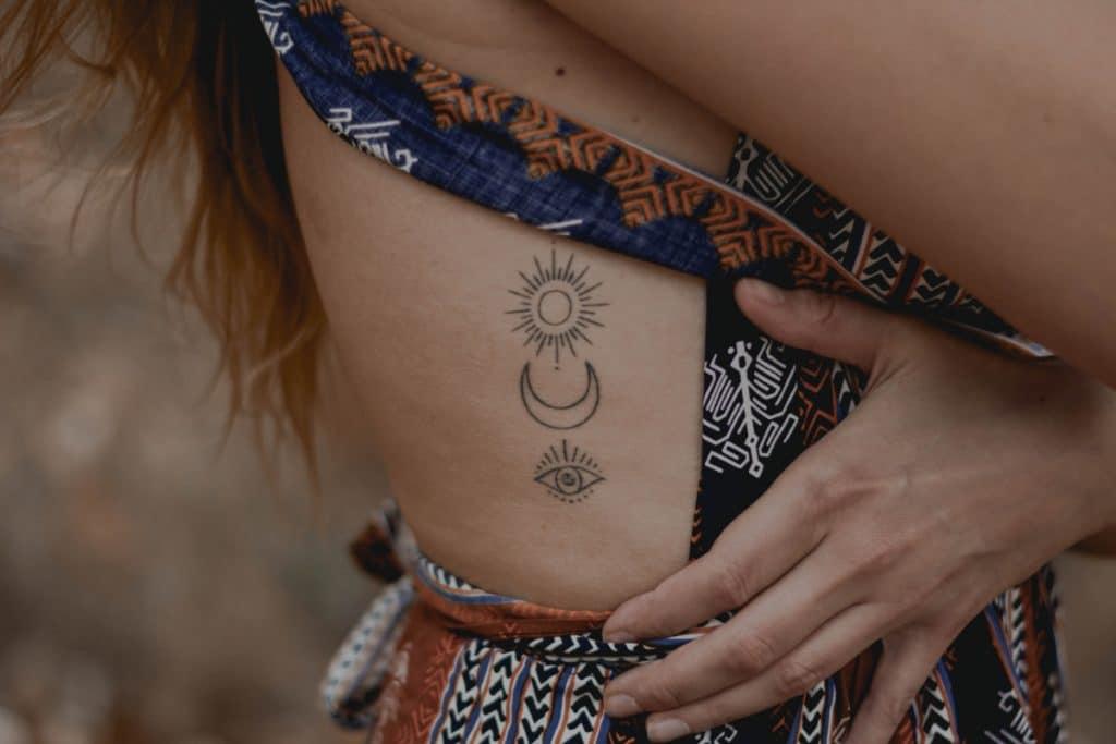 Diseños de Tattoos Luna