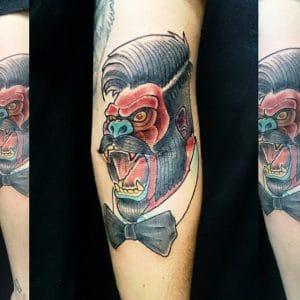 Tatuaje Gorila