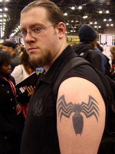 Tatuaje Spiderman Brazo