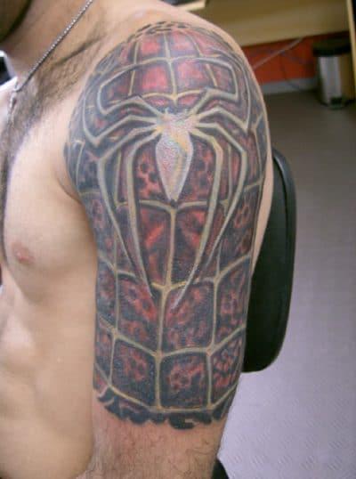 Tatuaje Spiderman Logo