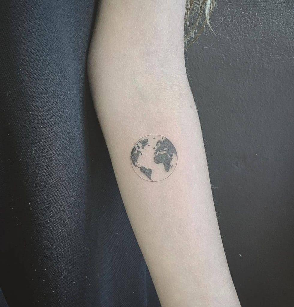 Tatuajes de la Tierra Realista