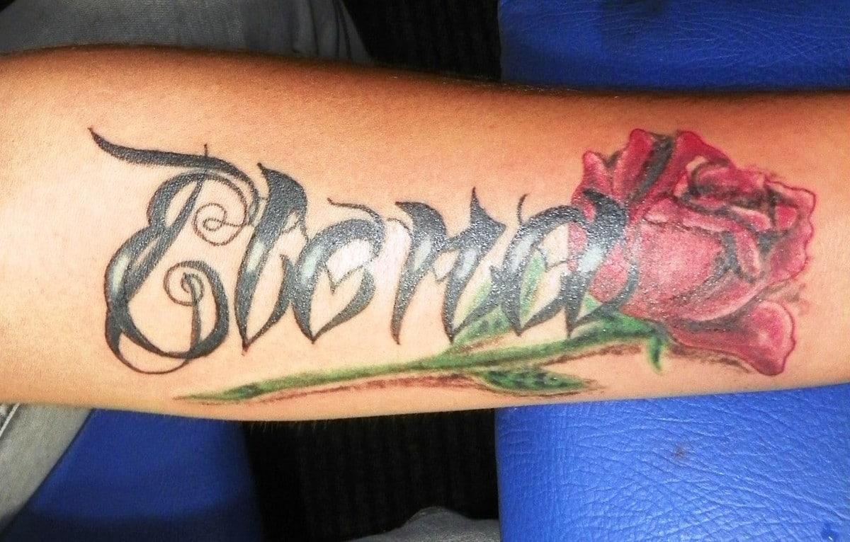 Tatuajes de Nombres de Hijos