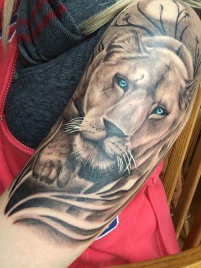 Tatuajes de Puma Grande