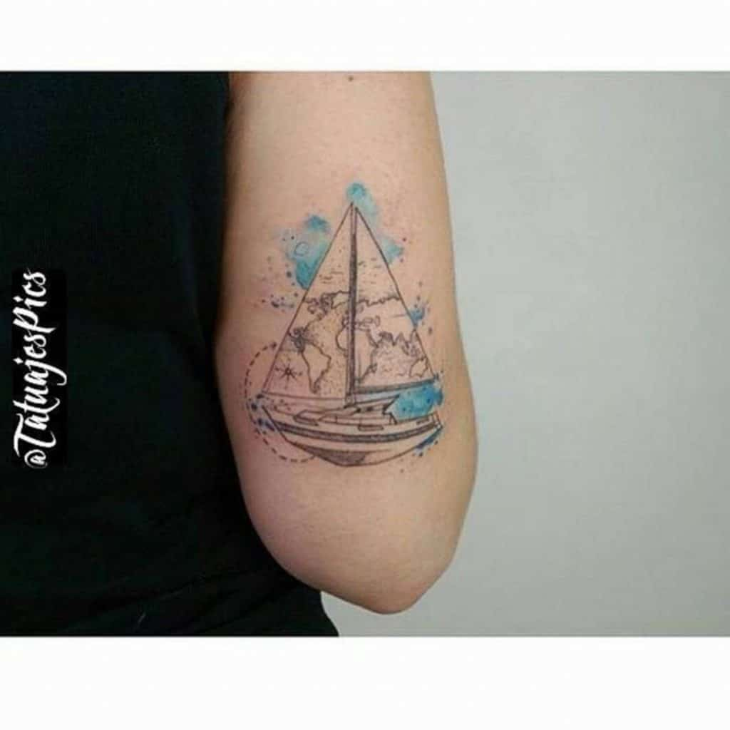 Tatuajes de Veleros