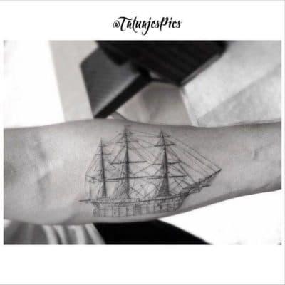 Tatuajes de Veleros Blanco