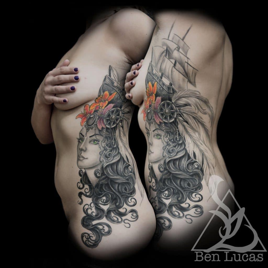 Tatuajes de Veleros Señora