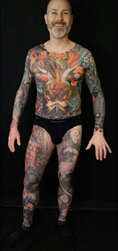 Tatuajes en Todo el Cuerpo Barba