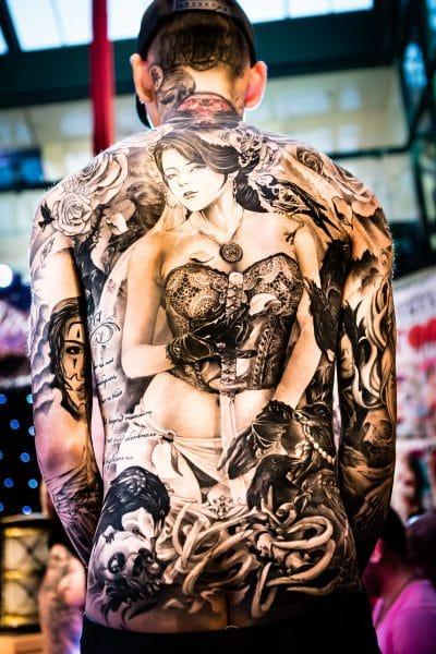 Tatuajes en Todo el Cuerpo Espalda