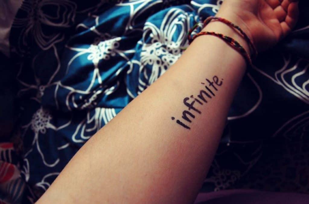 Tatuajes Infinitos Originales Palabras