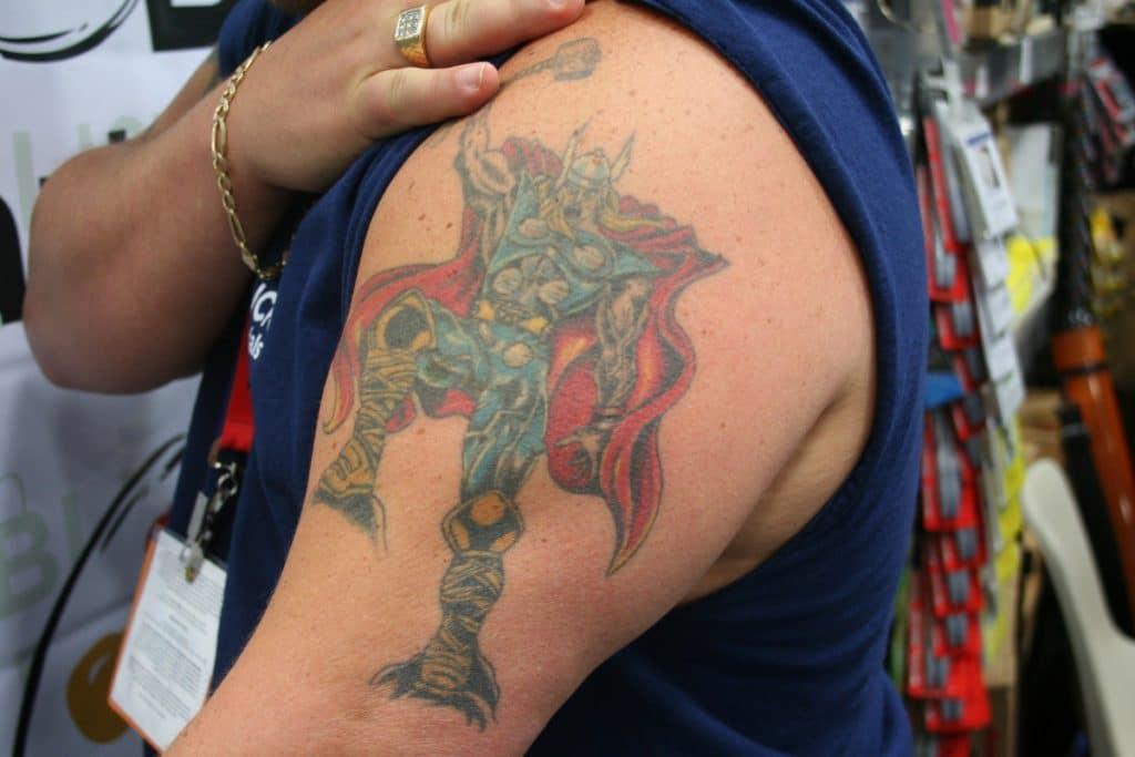 Martillo de Thor Tatuaje