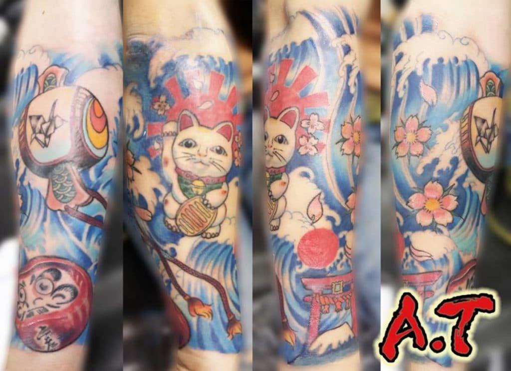 Tattoo Neotradicional Japonés