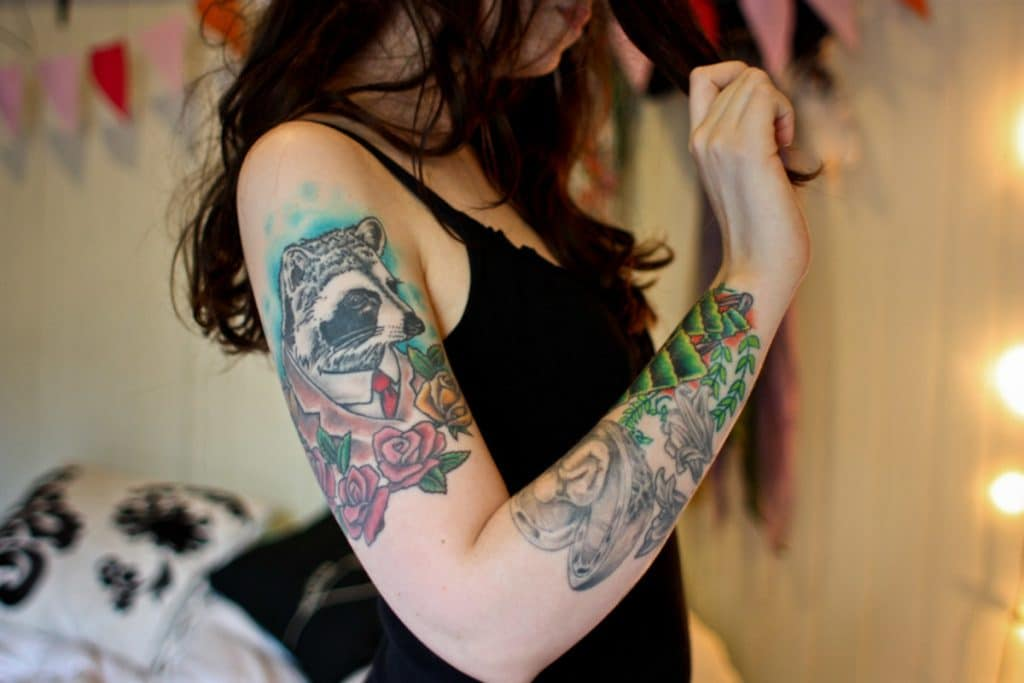 Tattoo Neotradicional Tejón