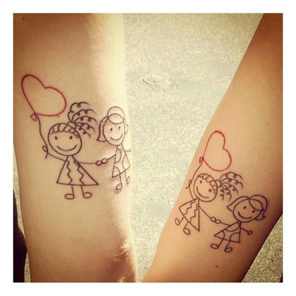 Tatuajes Conjuntos Hermanos