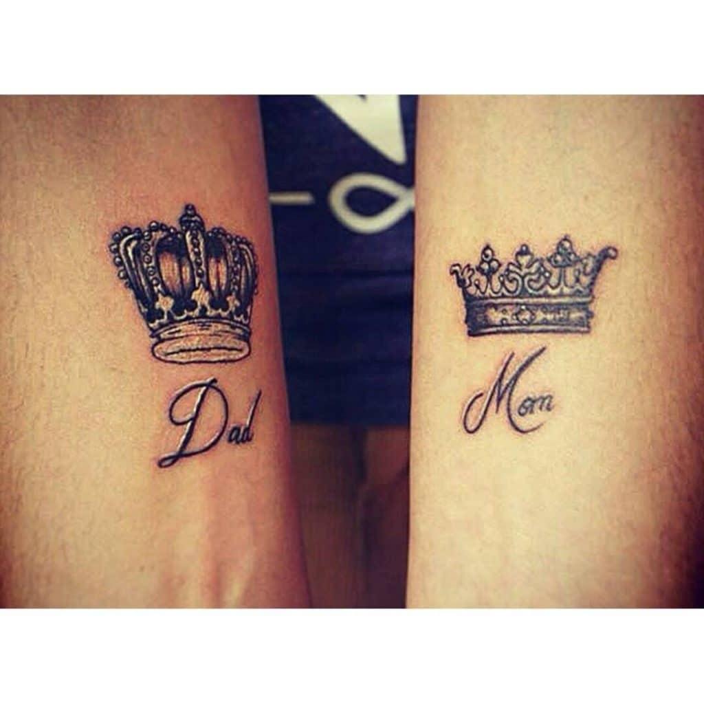 Tatuajes Conjuntos Rey