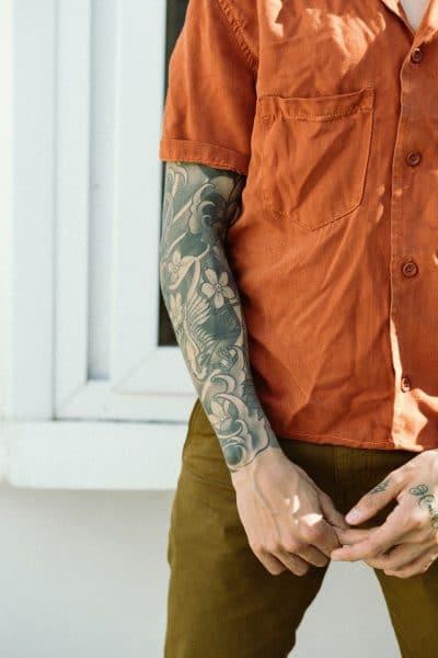 Tatuajes de Brazo Entero Japón