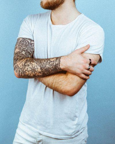 Tatuajes de Brazo Entero Mar