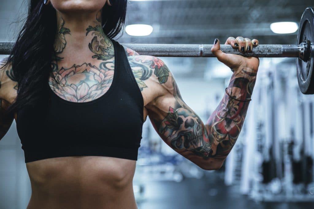 Tatuajes de Brazo Entero Pecho