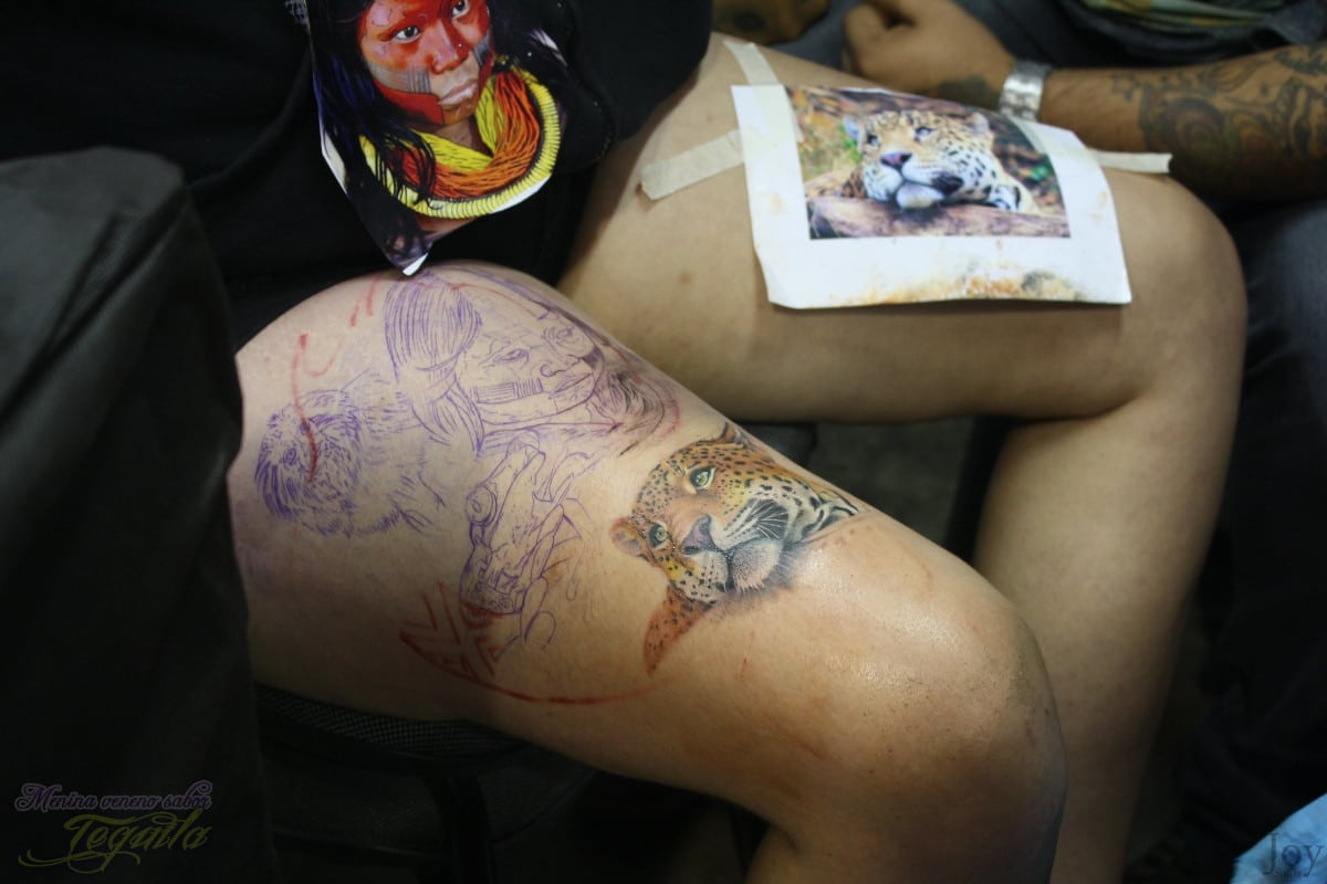 Tatuajes de Guepardo