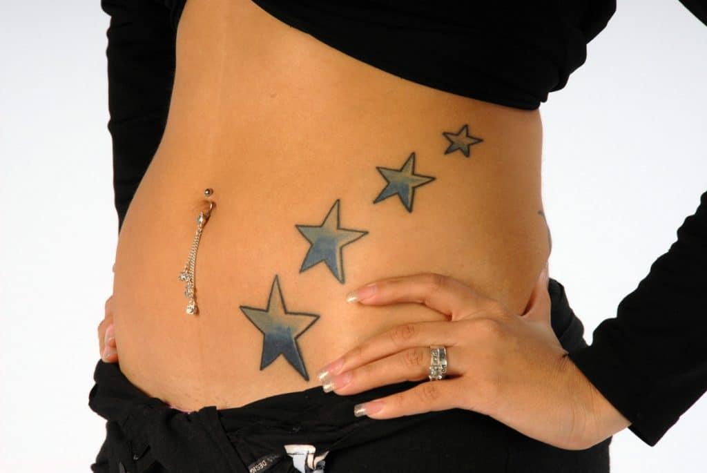 Tatuajes en la Barriga Mujer
