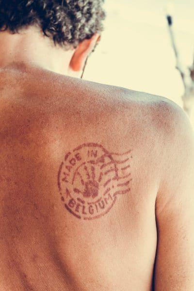 Tatuajes Espalda Hombre Pequeños Bélgica