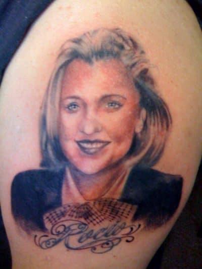 Tatuajes Mamá Retrato