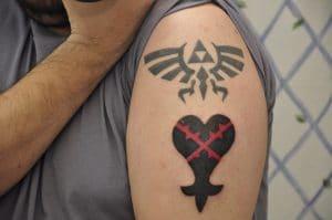 Trifuerza Tatuaje