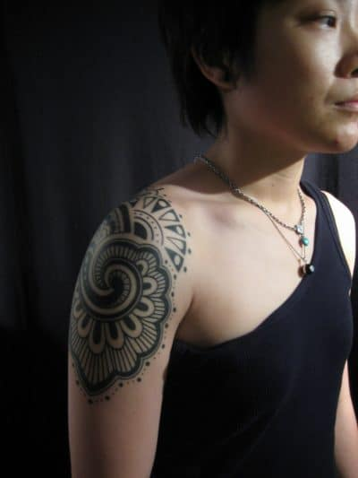Tatuaje Blackwork Brazo