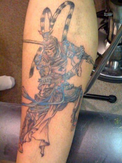 Tatuaje Mono Rey
