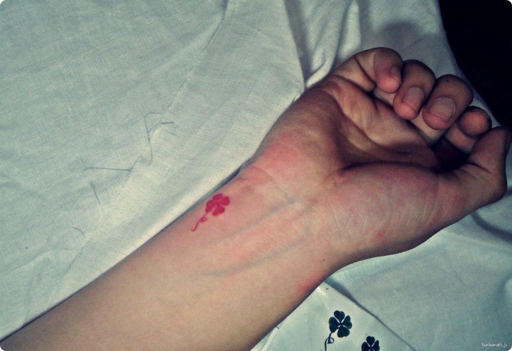 Tatuajes de Trébol Rojo