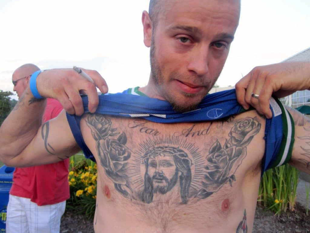 Tatuajes Jesucristo Pecho