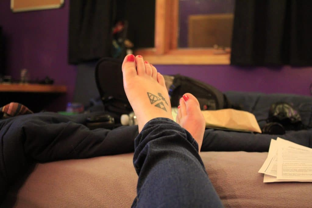 Tatuajes Zelda Pies