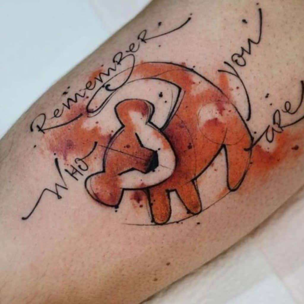 Tatuajes del Signo Leo Rey León