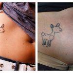 Los tatuajes se agrandan pero no se deforman