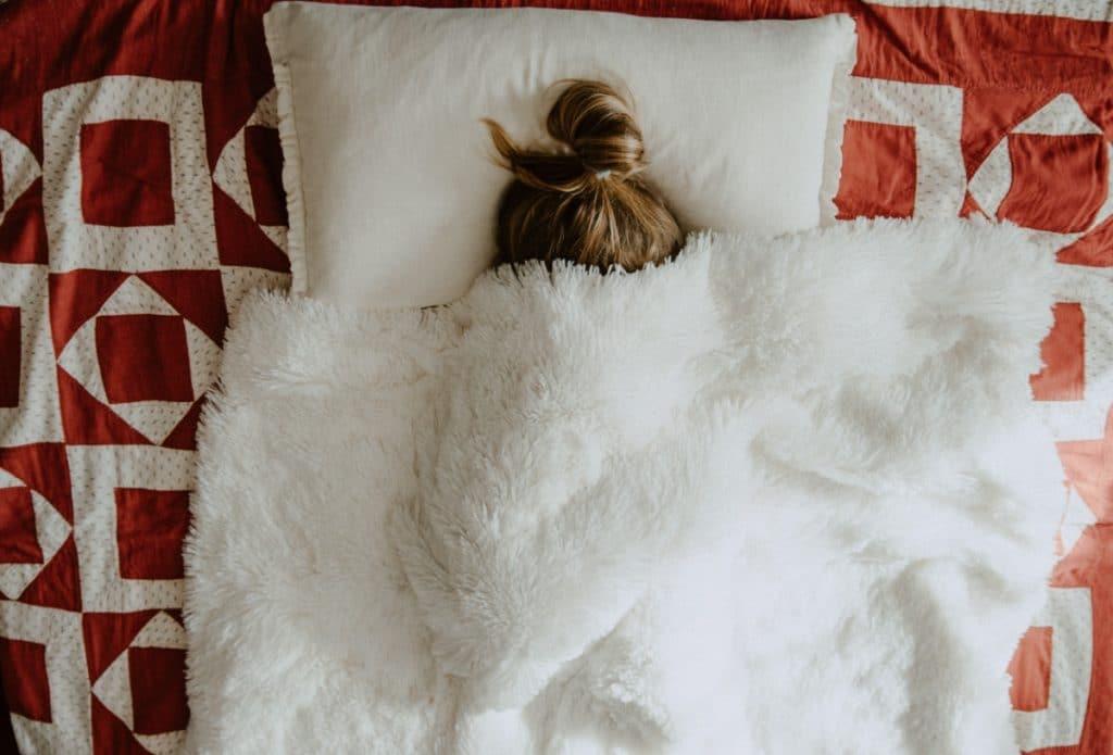 Lo mejor para hacer mientras uno está enfermo es dormir y recuperarse