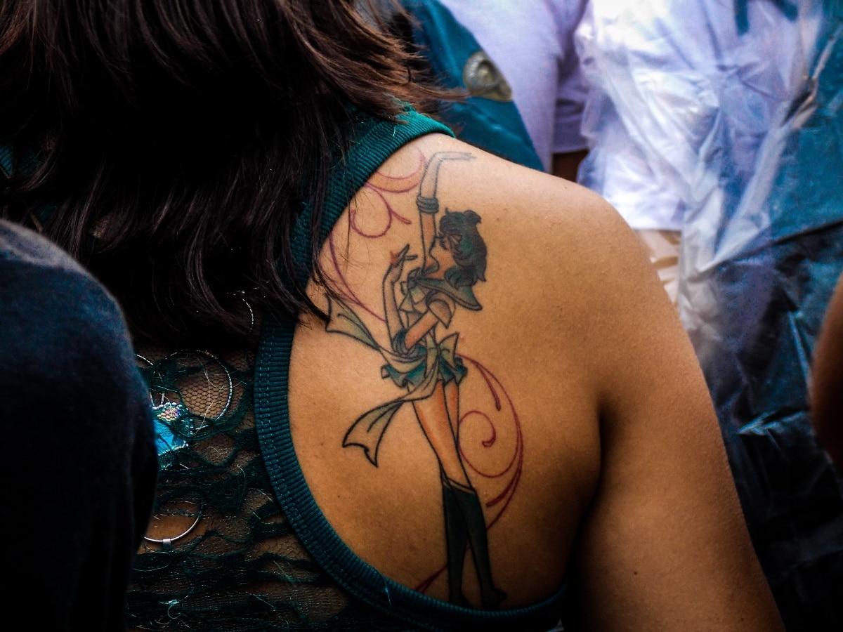 Tatuaje de sailor moon, la guerrera luna