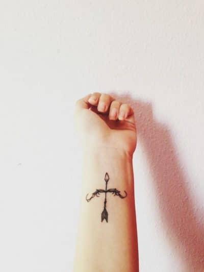 Un arco cargado es símbolo de creatividad